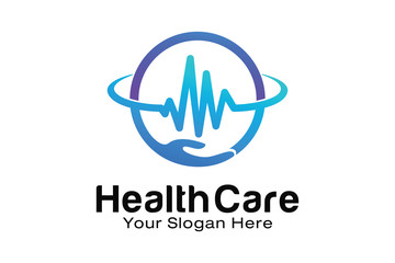Health Care logo design template