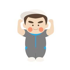 少年キャラクター体操