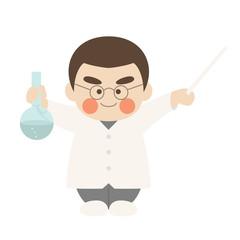 少年キャラクター科学者