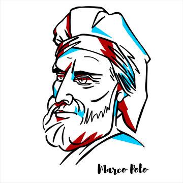 Marco Polo Portrait