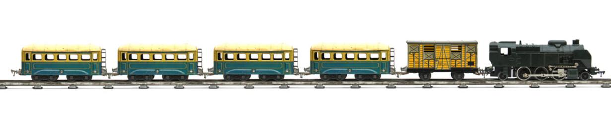 Train électrique jouet