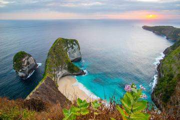 Kelingking Beach on Nusa Penida Island, Bali - Indonesia
