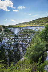 The bridge over river Artuby
