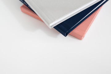 Assorted Cloth Covered Albums