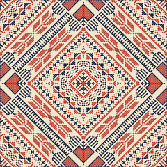 Palestinian embroidery pattern 171