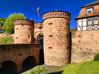 Alte Stadtmauer in Büdingen (Hessen)