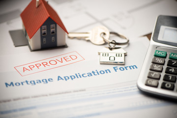 Mortgage loan. Investment, property