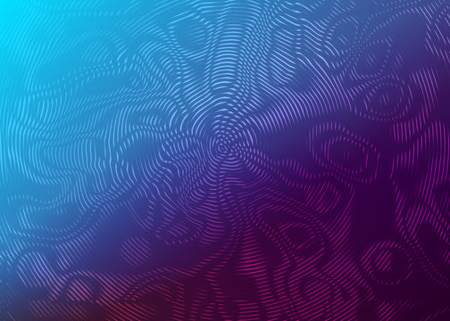 Abstract moire pattern background.