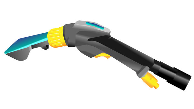 modern equipment for clean chemical treatment Professional washing vacuum cleaner for deep cleaning of all types of carpets, upholstery and car upholstery.