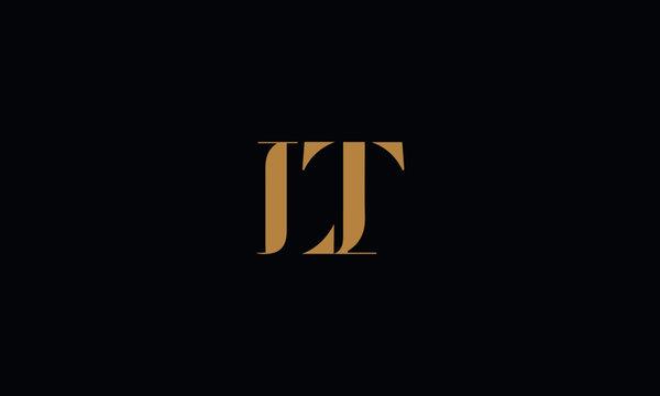 LT logo design template vector illustration
