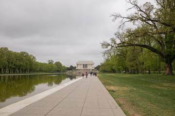 Lincoln Memorial panoramic view