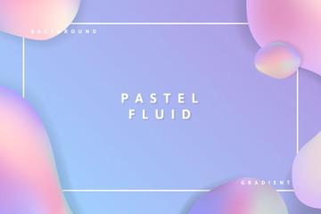 Fluid pastel background