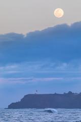 Kilauea Lighthouse Full Moon