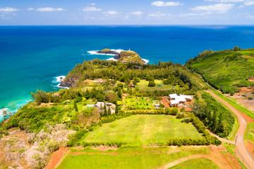 Kilauea Lighthouse Aerial