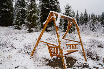 Snowy landscape - Canada