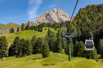 Cable Railway to Col Raiser Alp, Val Gardena, Dolomite Alps, Trentino-Alto Adige, Italy, xxl+more: bartussek.xmstore