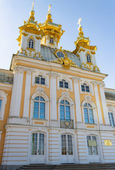 Part of Catherine Palace in Saint Petersburg, Russia.