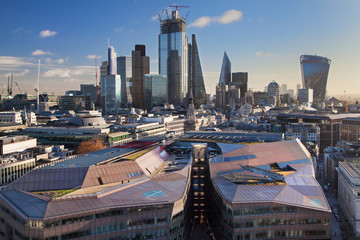 The City from St Paul's Cathedral