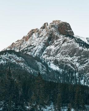 snow accents ridges