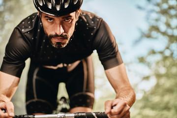 cyclist training for Tour De France