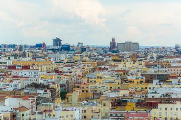 Foto op Canvas Barcelona Moncloa Viewpoint, Madrid, Spain