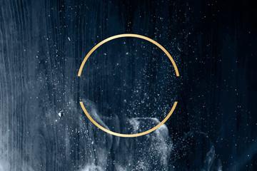 Starry night design frame