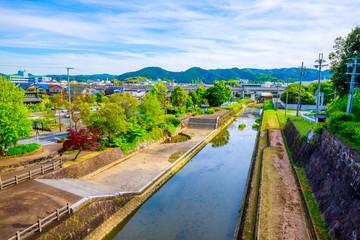 福知山城の風景