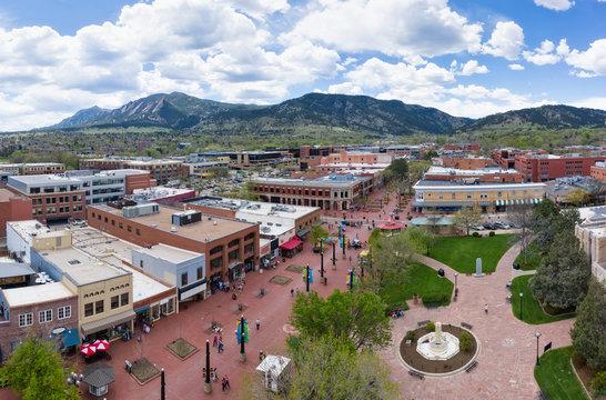 Boulder Pearl Street Mall, Colorado