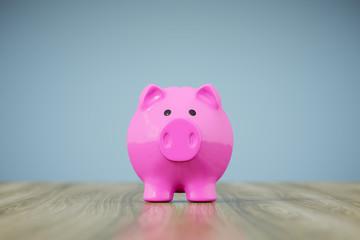 piggy bank pink