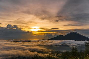 Sunrise Vulcano in Bali Indonesia