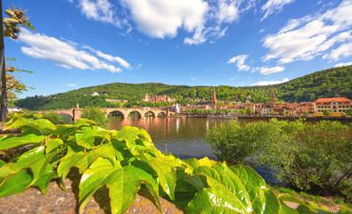 Heidelberg am Neckar, Altstadt Heidelberg mit Heidelberger Schloss