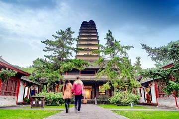 Xi'an ancient pagoda Fototapete