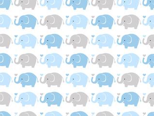 motif de fond de papier peint animal éléphant sans soudure