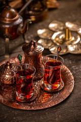 Traditional Turkish Tea