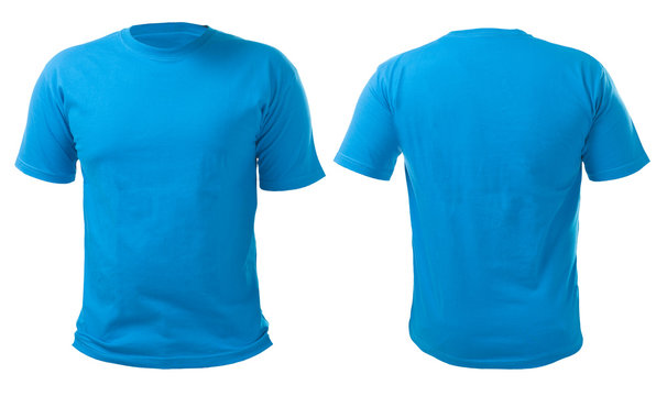 Blue Shirt Design Template