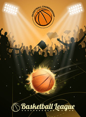fire basketball fun