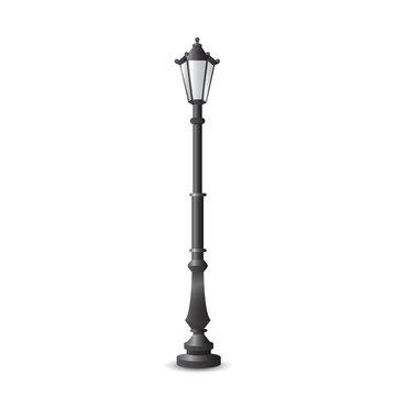City street light, lights, lighting, lamp, lantern vcetor