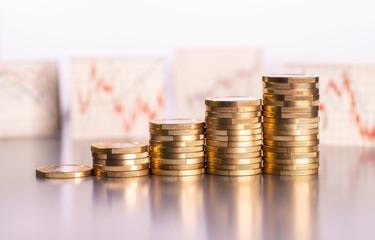 Steigender Gewinn an der Börse