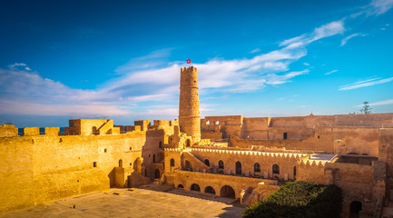 The medieval fortress in Monastir, Tunisia. Fototapete