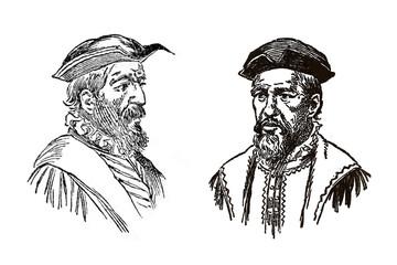 Pinzon Brothers, Spanish sailors and explorers