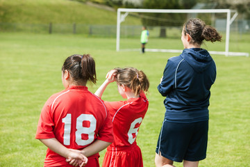 Youth soccer coach