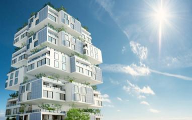 Sustainable block building