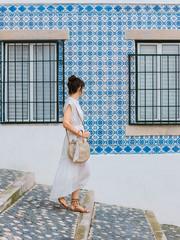 Pretty tile in Lisbon