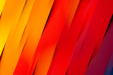 Colorful folded paper material design