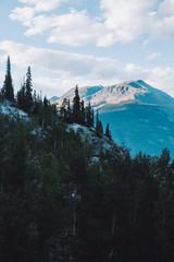 Colorado mountain range, near Silverton.