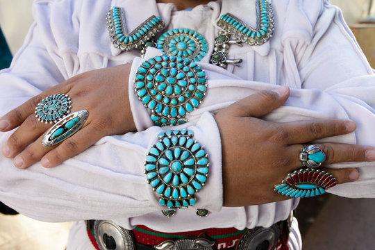 Santa Fe, New Mexico, USA. Indian Market