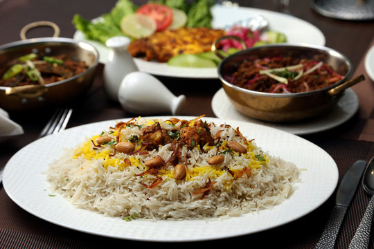 Rice Plate in Afghan Style with Cashew Nuts