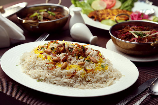 Afghani Pulao with Nuts