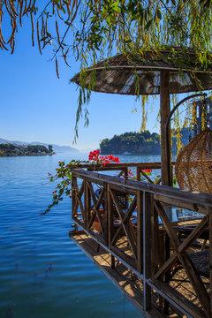 Dali erhai lake scenery