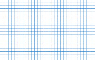 Blue lines square graph paper template.graph line artwork and grid drawing background for web or Printed on paper